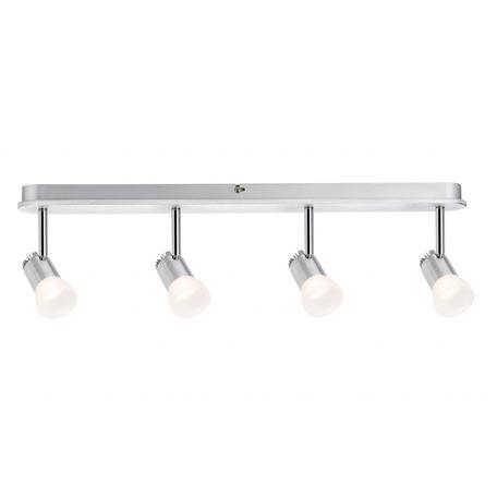 Потолочный светодиодный светильник с регулировкой направления света Paulmann Bariton 60221, LED 12W, металл, пластик