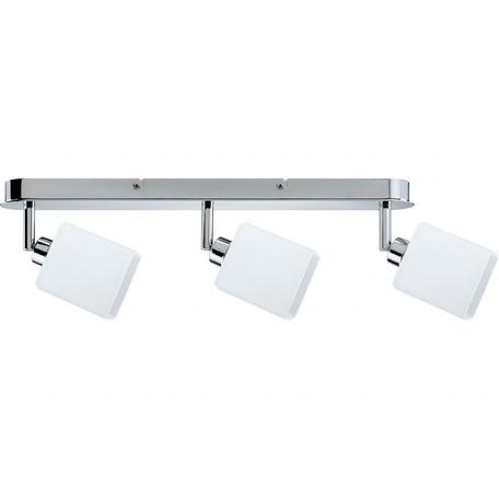 Потолочный светильник с регулировкой направления света Paulmann Quad 60304, 3xGZ10x3W, металл, стекло