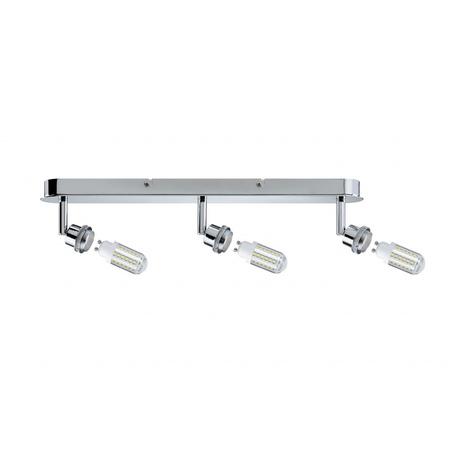 Основание потолочного светильника с регулировкой направления света Paulmann DecoSystems 60308, 3xGZ10x3W, металл