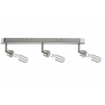 Основание потолочного светильника с регулировкой направления света Paulmann DecoSystems 60312, 3xGZ10x3W, металл