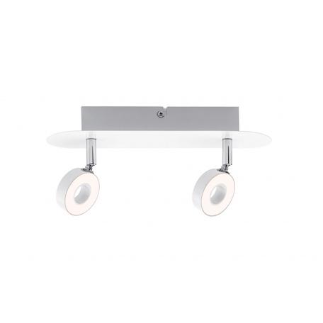 Потолочный светодиодный светильник с регулировкой направления света Paulmann Donut 60370, LED 8,6W, металл