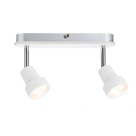 Потолочный светодиодный светильник с регулировкой направления света Paulmann Arioso 60227, LED 6W, металл