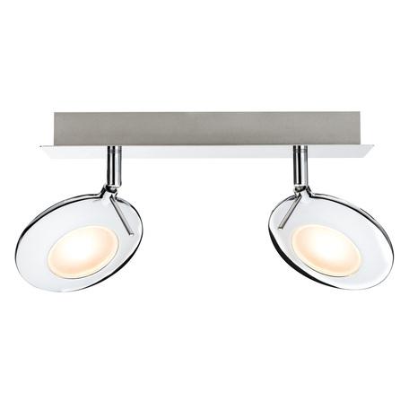 Потолочный светодиодный светильник с регулировкой направления света Paulmann Orb 60251, LED 6W, металл