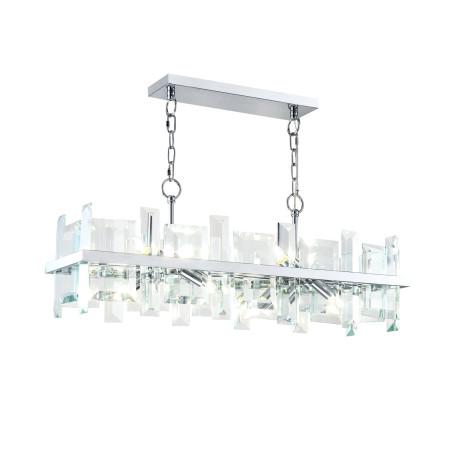 Подвесная люстра Maytoni Cerezo MOD201PL-08N, 8xE14x40W, хром, прозрачный, металл, стекло
