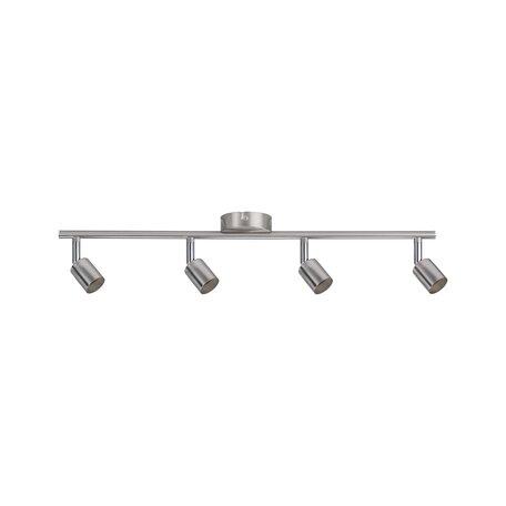 Потолочный светильник с регулировкой направления света Paulmann Carolina 66746, 4xGU10x10W, никель, металл