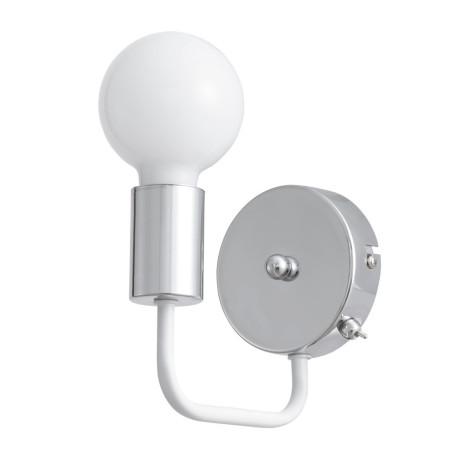 Бра Arte Lamp Gelo A6001AP-1WH, 1xE27x40W, хром, металл