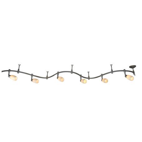 Гибкая система освещения Arte Lamp Instyle Rails Kits A3059PL-6SI, 6xE14x40W, серебро, белый, металл, стекло