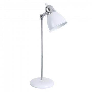 Настольная лампа Arte Lamp Amaks A3235LT-1CC, 1xE14x11W, белый, хром, металл