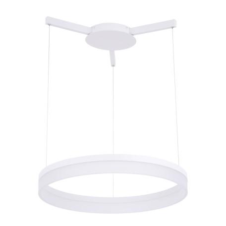 Подвесной светодиодный светильник Arte Lamp Sorento A2504SP-1WH, LED 48W 4000K 4320lm CRI≥80, белый, металл, пластик