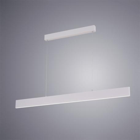 Подвесной светодиодный светильник Arte Lamp Largo A2505SP-2WH, LED 30W 4000K 2700lm CRI≥80, белый, металл, пластик - миниатюра 2