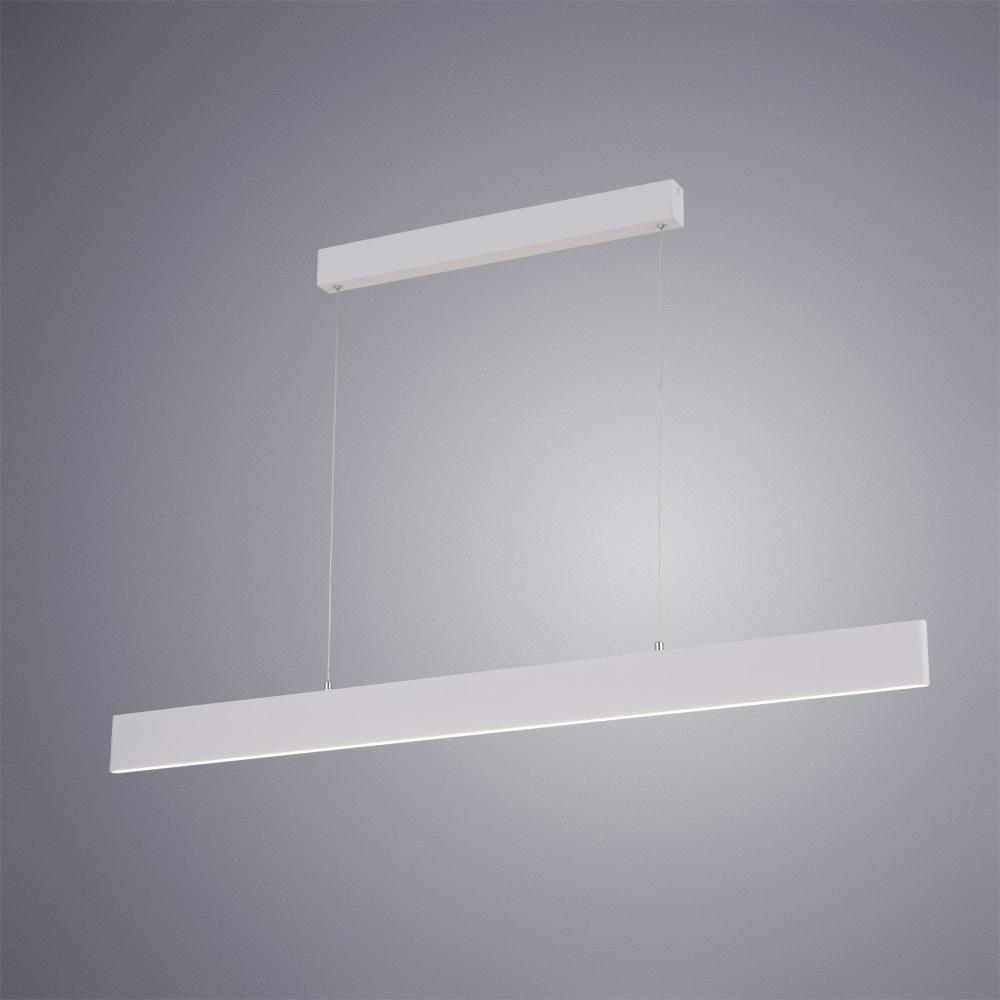 Подвесной светодиодный светильник Arte Lamp Largo A2505SP-2WH, LED 30W 4000K 2700lm CRI≥80, белый, металл, пластик - фото 2