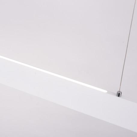 Подвесной светодиодный светильник Arte Lamp Largo A2505SP-2WH, LED 30W 4000K 2700lm CRI≥80, белый, металл, пластик - миниатюра 3