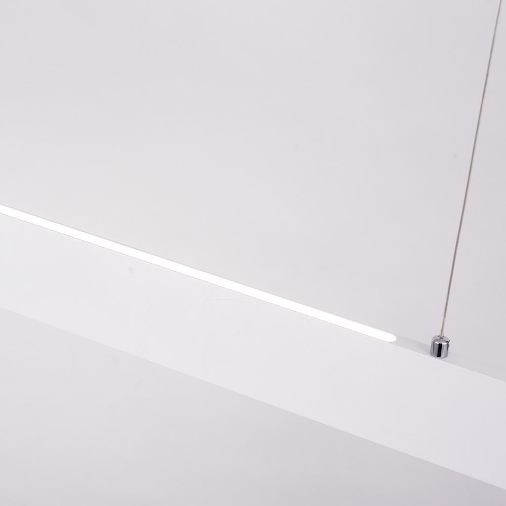 Подвесной светодиодный светильник Arte Lamp Largo A2505SP-2WH, LED 30W 4000K 2700lm CRI≥80, белый, металл, пластик - фото 3