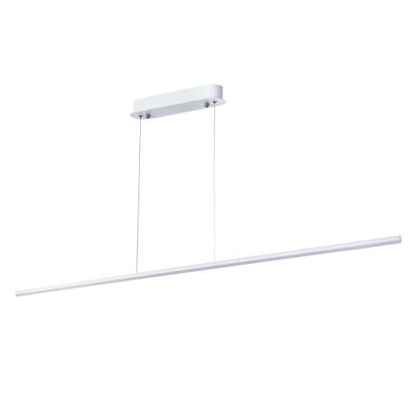 Подвесной светодиодный светильник Arte Lamp Decade A2506SP-1WH, LED 20W 4000K 1200lm CRI≥80, белый, металл, металл со стеклом/пластиком, пластик