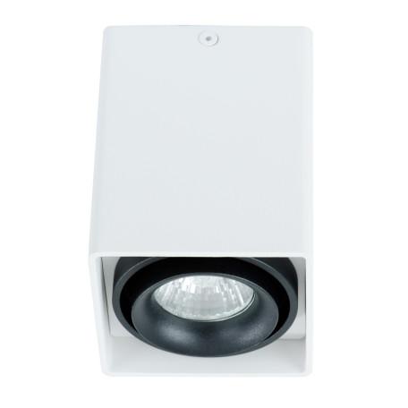 Потолочный светильник Arte Lamp Instyle Pictor A5655PL-1WH, 1xGU10x50W, белый, черный, металл