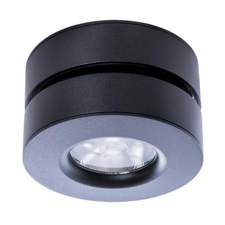 Потолочный светодиодный светильник с регулировкой направления света Arte Lamp Instyle Vela A2511PL-1BK, 4000K (дневной), черный, металл