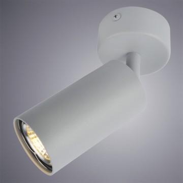Потолочный светильник с регулировкой направления света Arte Lamp Instyle Aquarius A3216PL-1GY, 1xGU10x50W, серый, металл