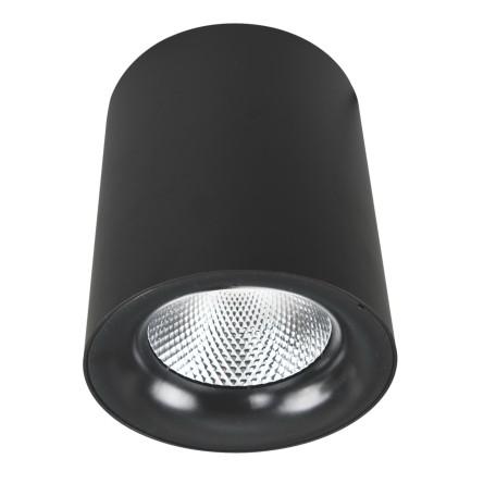 Потолочный светодиодный светильник Arte Lamp Instyle Facile A5112PL-1BK, LED 12W 3000K 900lm CRI≥80, черный, металл - миниатюра 1