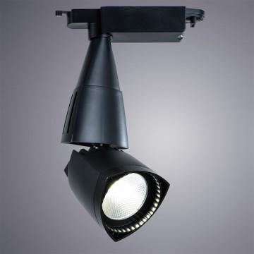 Светодиодный светильник для шинной системы Arte Lamp Instyle Lynx A3830PL-1BK, 4000K (дневной), черный, металл, пластик