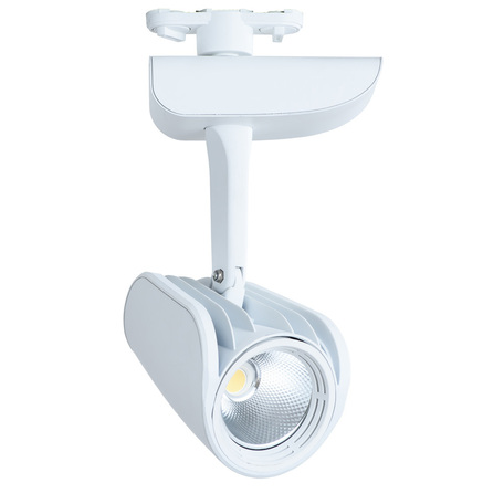 Светодиодный светильник с регулировкой направления света для шинной системы Arte Lamp Instyle Lynx A3930PL-1WH, LED 30W 4000K 2100lm CRI≥80, белый, металл, пластик