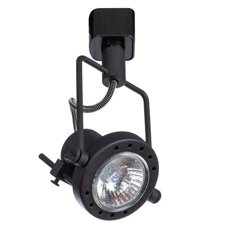 Светильник Arte Lamp Instyle Costruttore A4300PL-1BK, 1xGU10x50W, черный, металл