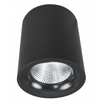 Потолочный светодиодный светильник Arte Lamp Instyle Facile A5130PL-1BK, LED 30W 3000K 2400lm CRI≥80, черный, металл