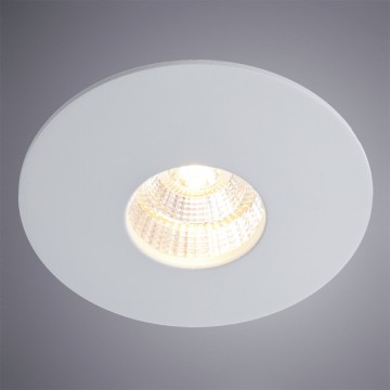 Встраиваемый светодиодный светильник Arte Lamp Instyle Uovo A5438PL-1GY, 3000K (теплый), серый, металл