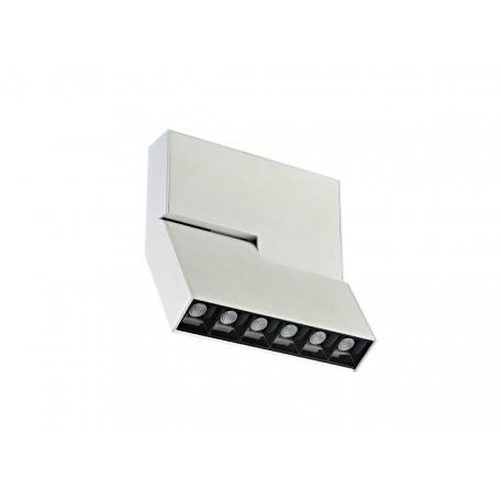 Потолочный светодиодный светильник с регулировкой направления света Donolux Eye Turn DL18786/06C White