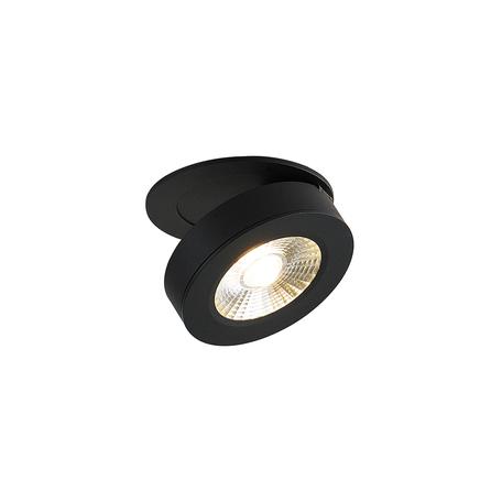 Встраиваемый светодиодный светильник с регулировкой направления света Donolux Sun DL18961R12W1B, LED