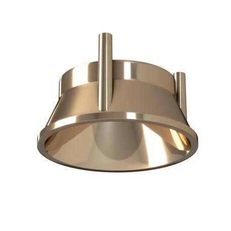 Декоративная рамка Maytoni Alfa LED C064-01G, золото, пластик