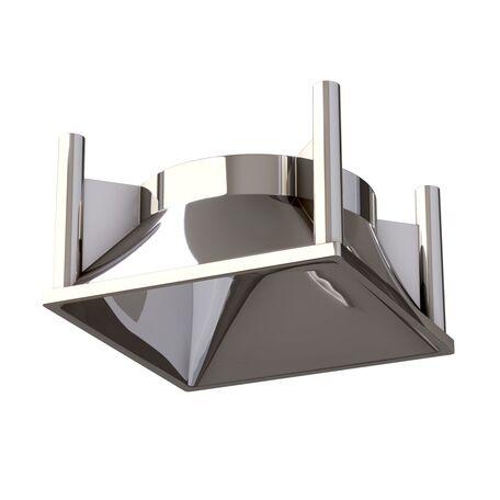Декоративная рамка Maytoni Alfa LED C065-01CH, хром, пластик