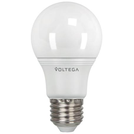 Светодиодная лампа Voltega Simple 5736 A60 E27 4W, 4000K (дневной) 220V, гарантия 2 года