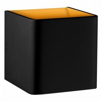 Настенный светодиодный светильник Donolux DL18391/11WW Black/Golg