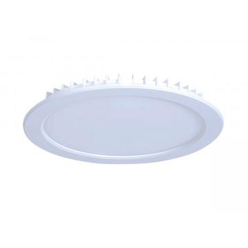 Встраиваемая светодиодная панель Donolux City DL18454/3000-White R, LED 12W, 3000K (теплый)