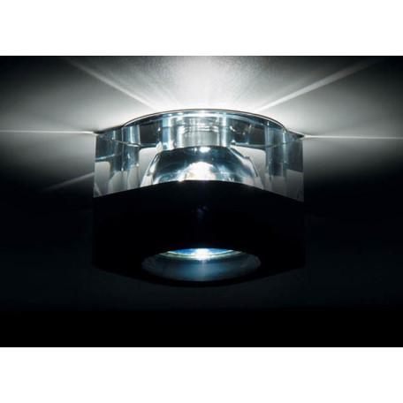 Встраиваемый светильник Donolux DL034C-Black, 1xGU5.3x50W
