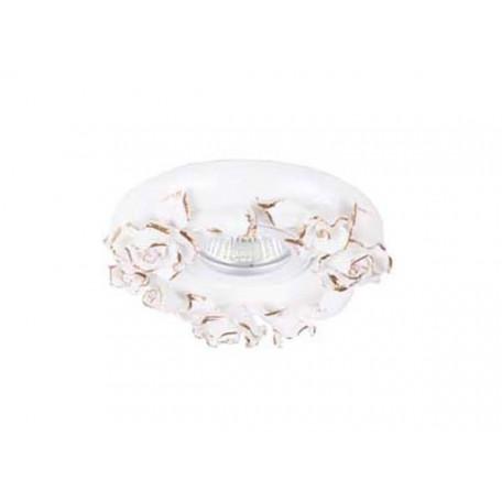 Встраиваемый светильник Donolux N1629-White+gold, 1xGU5.3x50W
