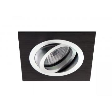 Встраиваемый светильник Donolux SA1520-Alu/Black, 1xGU5.3x50W