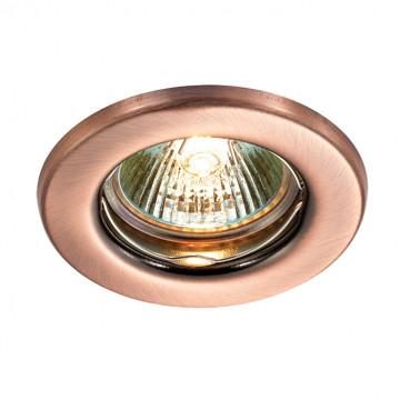 Встраиваемый светильник Novotech Classic 369701, 1xGX5.3x50W, медь