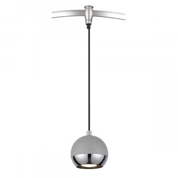 Подвесной светильник для гибкой системы Odeon Light Cemeta 3801/1, 1xGU10x50W, хром, серый, металл