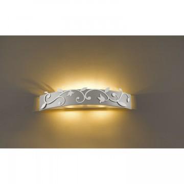 Настенный светильник Favourite Florina 1464-3W SALE, 3xG9x40W, серебро, металл, стекло