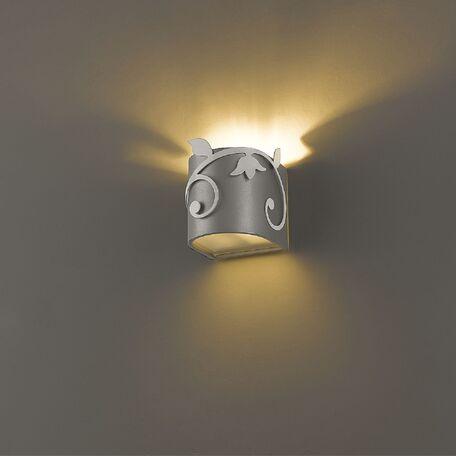 Настенный светильник Favourite Florina 1464-1W SALE, 1xG9x40W, серебро, металл