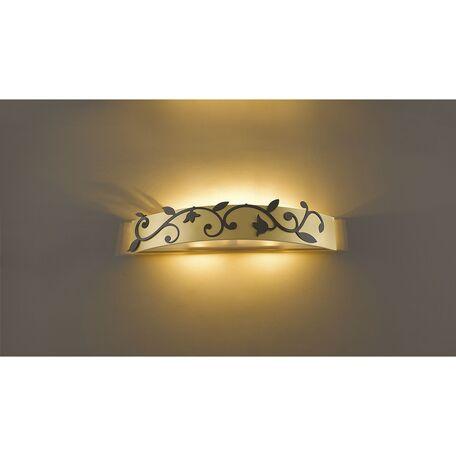 Настенный светильник Favourite Florina 1465-3W SALE, 3xG9x40W, матовое золото, металл