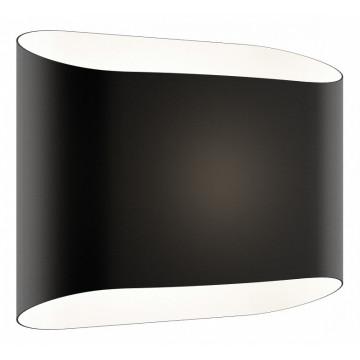 Настенный светильник Lightstar Muro 808627 SALE, 2xG9x40W, серый, черный, металл, стекло