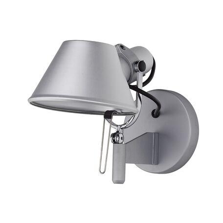 Настенный светильник с регулировкой направления света Favourite Legend 1869-1W SALE, 1xE27x60W, серебро, металл