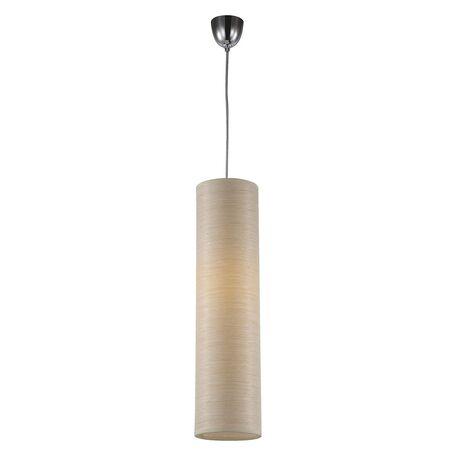 Подвесной светильник Favourite Largo 1359-1P SALE, 1xE27x25W, хром, бежевый, металл, дерево