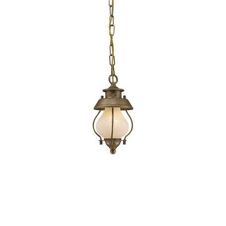 Подвесной светильник Favourite Lucciola 1460-1P SALE, 1xE14x40W, коричневый, металл, металл со стеклом