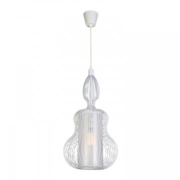 Подвесной светильник Favourite Zauber 1881-1P SALE, 1xE27x60W, белый, металл, текстиль