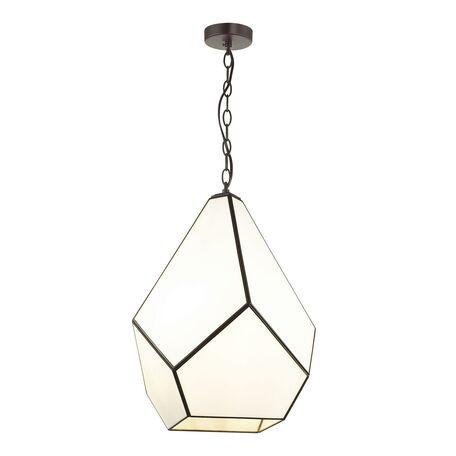 Подвесной светильник Favourite Eislager 1916-4P SALE, 4xE14x40W, черный, белый, металл, стекло