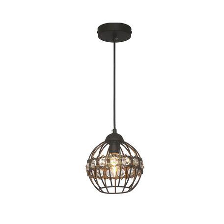 Подвесной светильник Favourite F-Promo Globi 1801-1P SALE, 1xE14x40W, коричневый, металл, металл со стеклом
