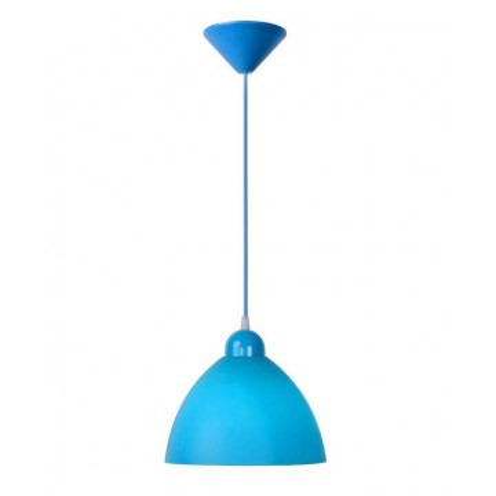 Подвесной светильник Lucide Coco 08406/23/35 SALE, 1xE27x40W, голубой, пластик